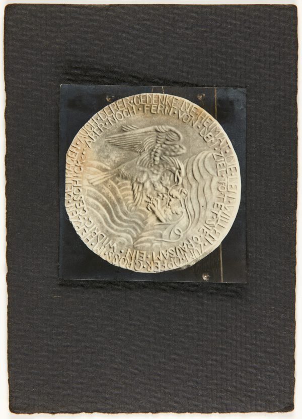 An image of Image of eagle medallion by Eleonore Lange