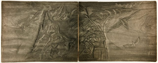 An image of Image of a section of the 'H. W. Hamilton Memorial' 1937 by Eleonore Lange