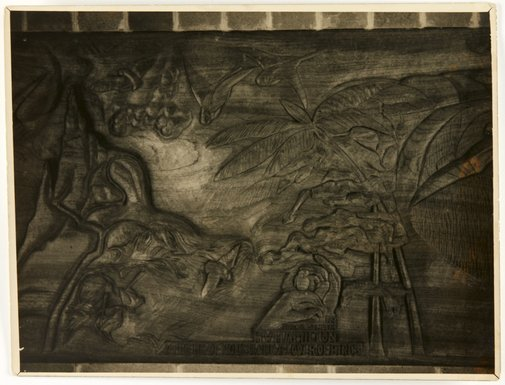 An image of Image of a section of the 'H. W. Hamilton Memorial' 1937 by Eleonore Lange by