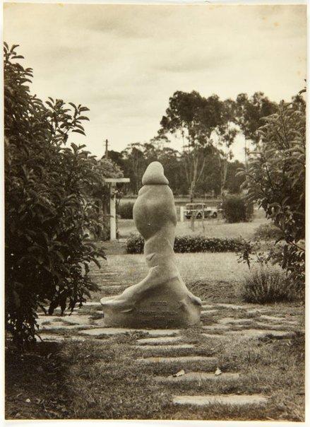 An image of Image of 'Stargold birdbath' 1940 by Eleonore Lange by
