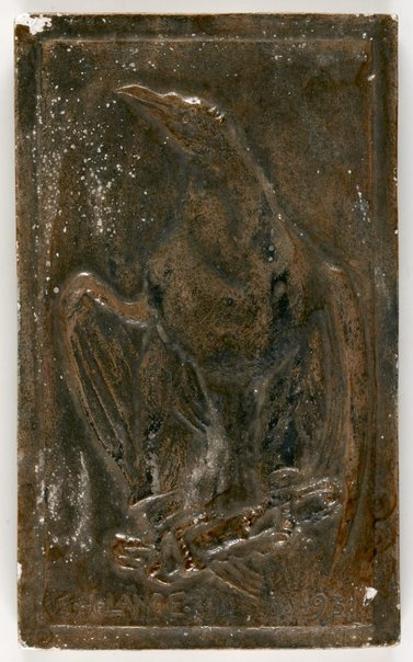 An image of Untitled (Eagle) by Eleonore Lange