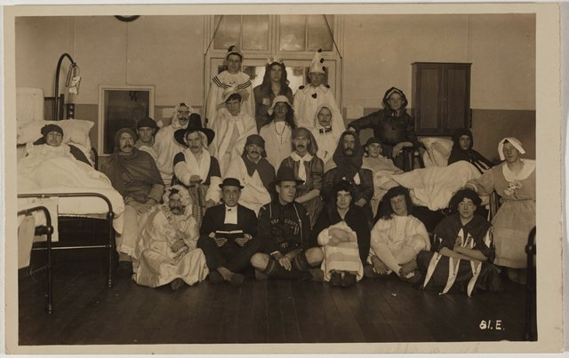An image of Hospital pantomime