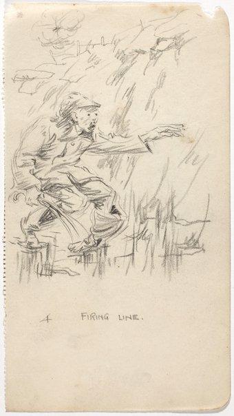 An image of 4. Firing line by Weaver Hawkins