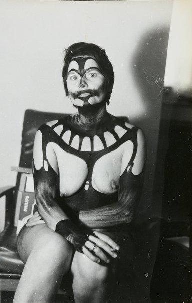 An image of Still from 'Silvia paints Pat #1' by Pat Larter, Silvia Jansons, Richard Larter