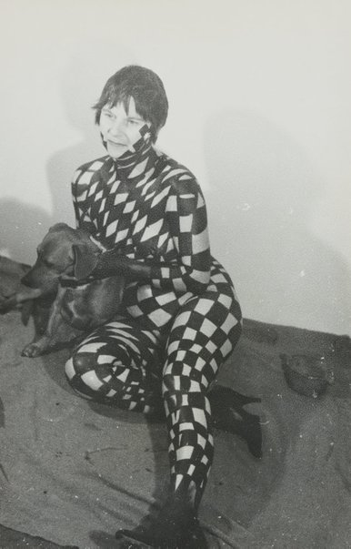 An image of Still from 'Silvia paints Pat #2' by Pat Larter, Silvia Jansons, Richard Larter