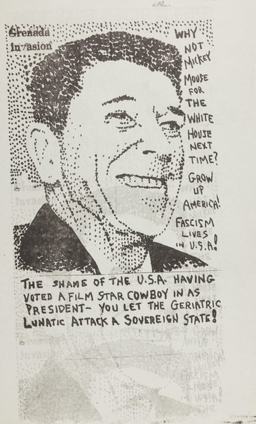 An image of The shame of the U.S.A. by Pat Larter, Richard Larter
