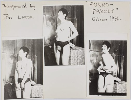 An image of Still from 'Porno-Parody' by Pat Larter, Richard Larter