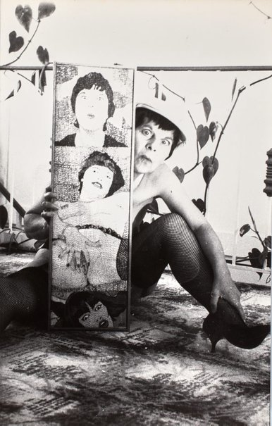 An image of Still from 'Portrait' by Pat Larter, Richard Larter