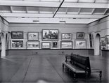 Alternate image of Historical interior view of a flood in court 3 of the National Art Gallery of New South Wales by Unknown