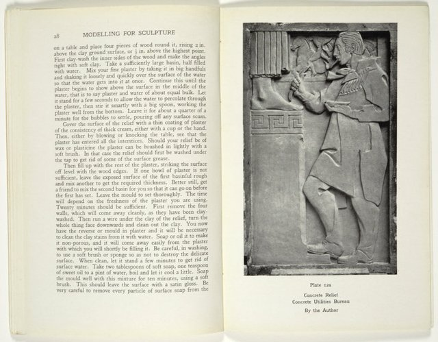 An image of Modelling for sculpture. A book for the beginner