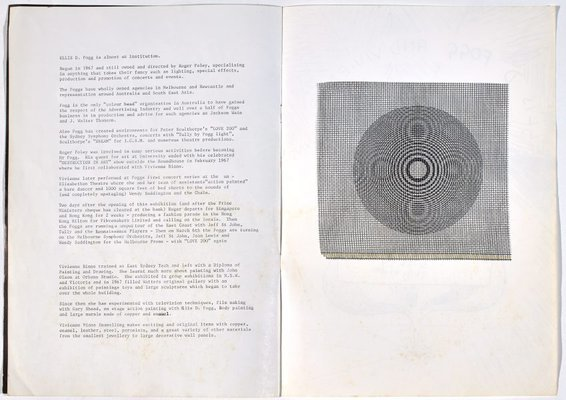 Alternate image of Catalogue to the exhibition WOOM by Vivienne Binns, Roger Foley-Fogg