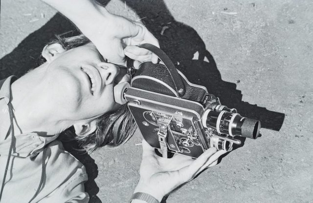 An image of Mike Molloy behind the camera