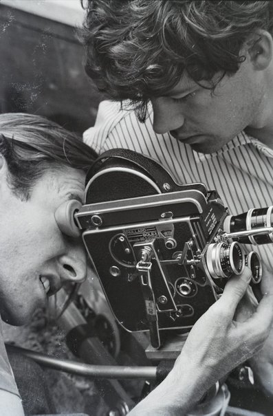 An image of Bruce Beresford and Mike Molloy by Robert Walker