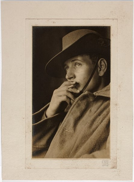 An image of Self portrait by Cecil Bostock