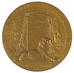 Alternate image of Pro Patria medal by Paul Grandhomme
