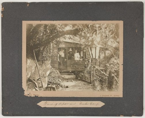 An image of The Dining department, Curlew Camp by Roland Norman