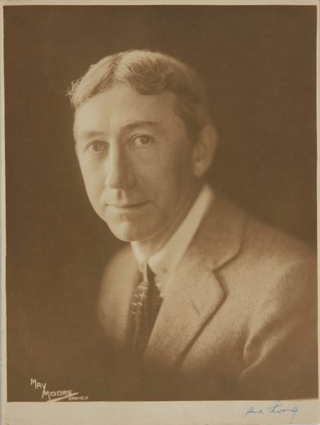 An image of Portrait of Sydney Long by May Moore
