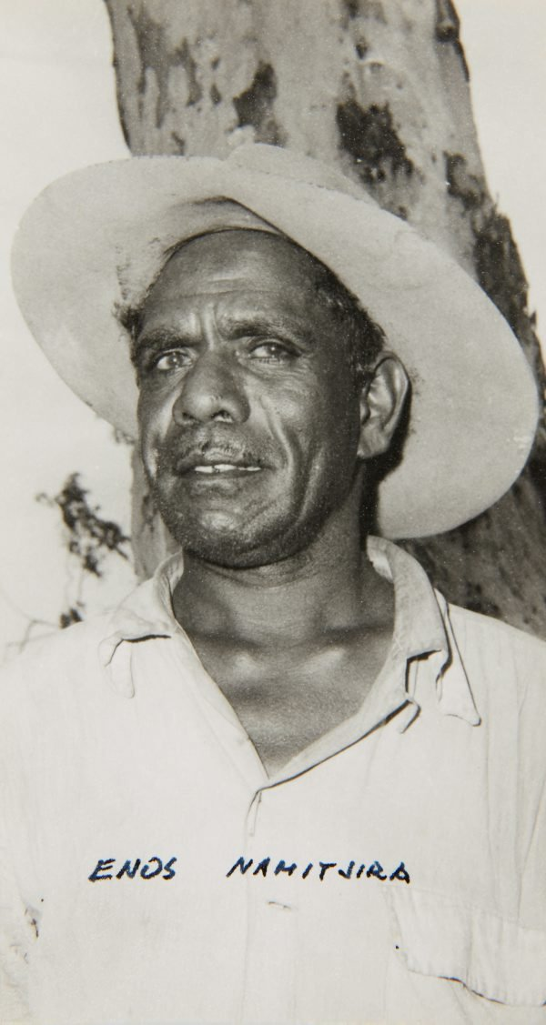 An image of Portrait of Enos Namatjira