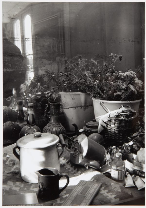 An image of Margaret Olley's house, Sydney