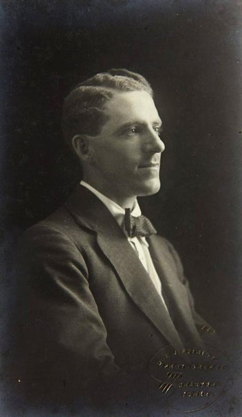 An image of Portrait of Rubery Bennett by Donald Peiniger