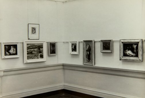 An image of Installation view of Margaret Preston works in the 'Margaret Preston and William Dobell loan exhibition', 1942, National Art Gallery of New South Wales by Unknown