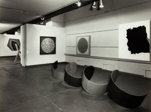 An image of Installation view of the exhibition 'The field', 1968, Art Gallery of New South Wales