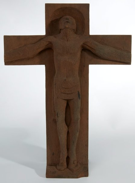 An image of Crucifix by Margel Hinder