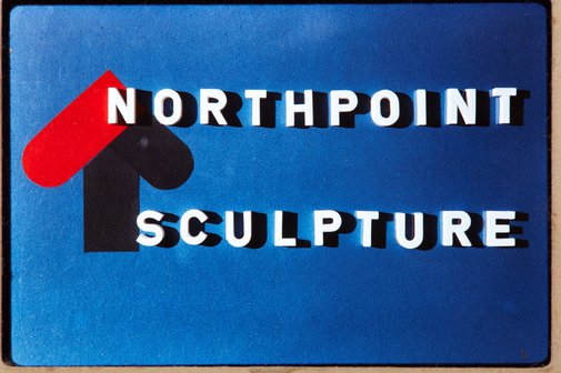 An image of Logo of Northpoint shopping complex, North Sydney, site of 'Northpoint fountain' 1975 by Margel Hinder by Unknown