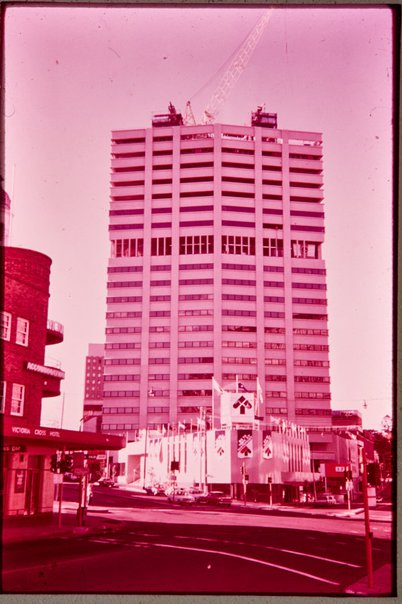 An image of Northpoint shopping complex, North Sydney, site of 'Northpoint fountain' 1975 by Margel Hinder by Unknown