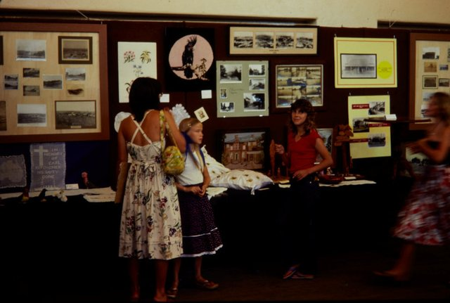 An image of Installation view of the 'Upper Hunter Valley environment exhibition', Muswellbrook