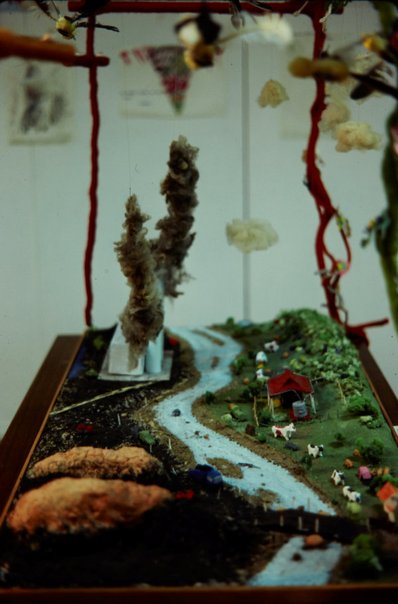 An image of Installation view of the 'Upper Hunter Valley environment exhibition', Scone by Roger Skinner