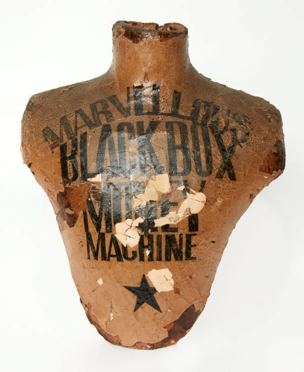 An image of Marvellous black box money machine torso