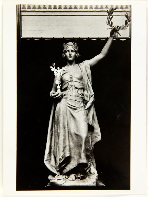 An image of Image of the figure of 'Glory' from the Islington Boer War memorial 1904-05 by Bertram Mackennal