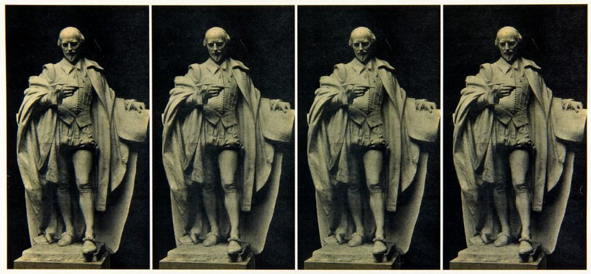 Alternate image of Image of plaster cast of the figure of Shakespeare for the Shakespeare Memorial 1926 by Bertram Mackennal by Unknown