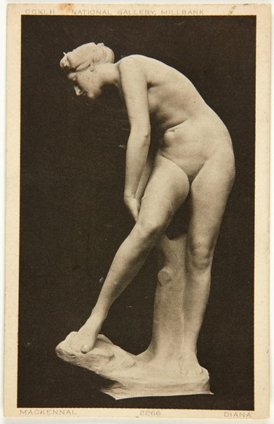An image of Image of 'Diana wounded' c.1907 by Bertram Mackennal by Unknown