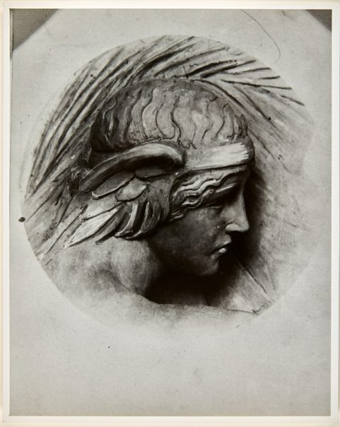 An image of Image of design for the head of the figure on the pedestal of the Formia war memorial by Dora Ohlfsen by Dora Ohlfsen
