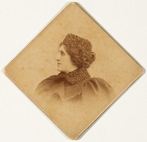 An image of Portrait of Dora Ohlfsen by Unknown