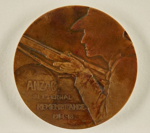 An image of Anzac in eternal remembrance by Dora Ohlfsen