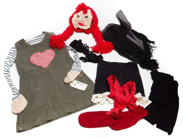 An image of Costume worn in the performance 'Living rag doll' 2004