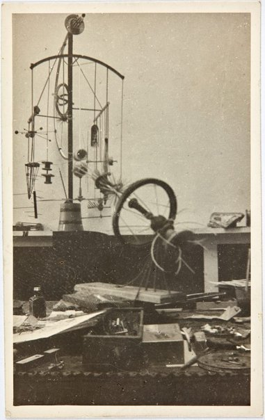 An image of Works in Robert Klippel's Paris atelier by Unknown
