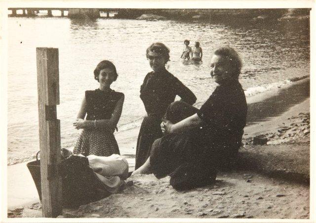 An image of Nina Mermey with Haide Klippel and Maria Brown at Watsons Bay