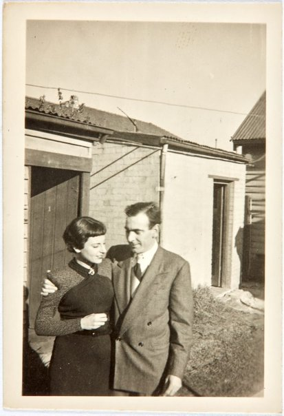 An image of Robert Klippel and Nina Mermey in Sydney by Unknown photographer