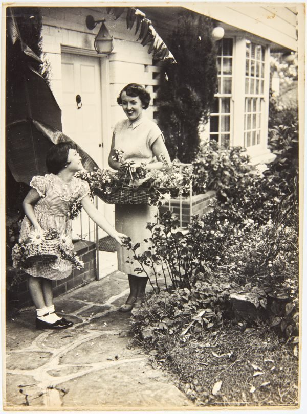 An image of Myra Clare Klippel with child