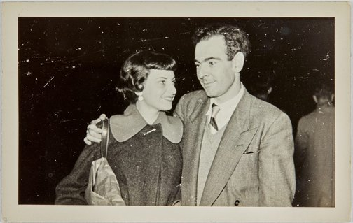 An image of Nina Mermey and Robert Klippel by Unknown photographer