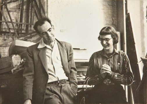 An image of Robert Klippel and Nina Mermey by Unknown photographer