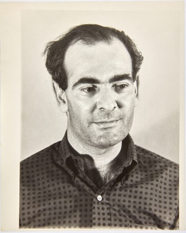 An image of Portrait of Robert Klippel taken by Glickman