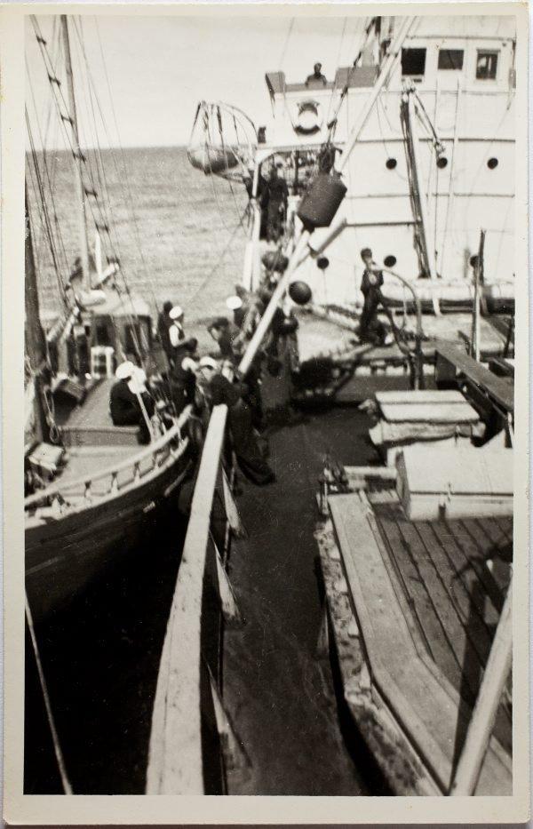 An image of On board the HMAS Bombo