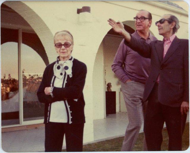 An image of Grace Crowley, Richard Crebbin and Robert Klippel