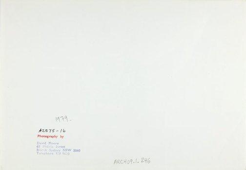 An image of Portrait of Robert Klippel in his studio by David Moore