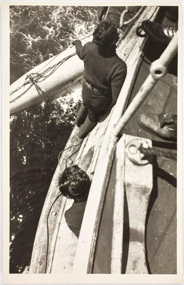 An image of Sailors aboard the HMAS Bombo